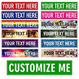 Custom Signs - Custom Street Signs 18' x 4' Personalized Gifts for Men, Outdoor Aluminum Metal Sign, Road Signs, Man Cave, Personalized Street Signs