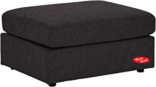 Sectional Sofa, Easy-Assembly Linen Fabric Charcoal Modular Sofa Set, by Bliss Brands (Ottoman)