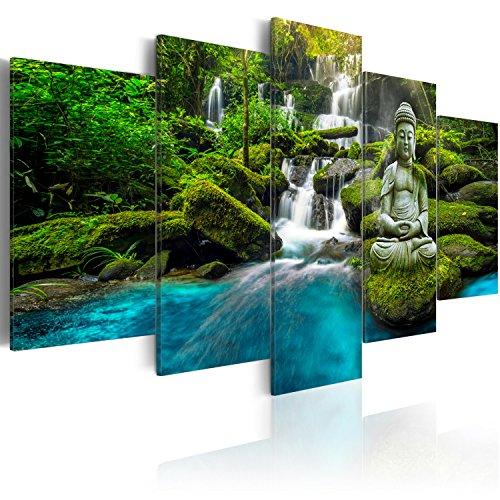 murando - Cuadro en Lienzo Buda Zen SPA 200x100 cm Impresión de...