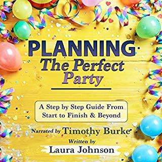Planning the Perfect Party audiobook cover art