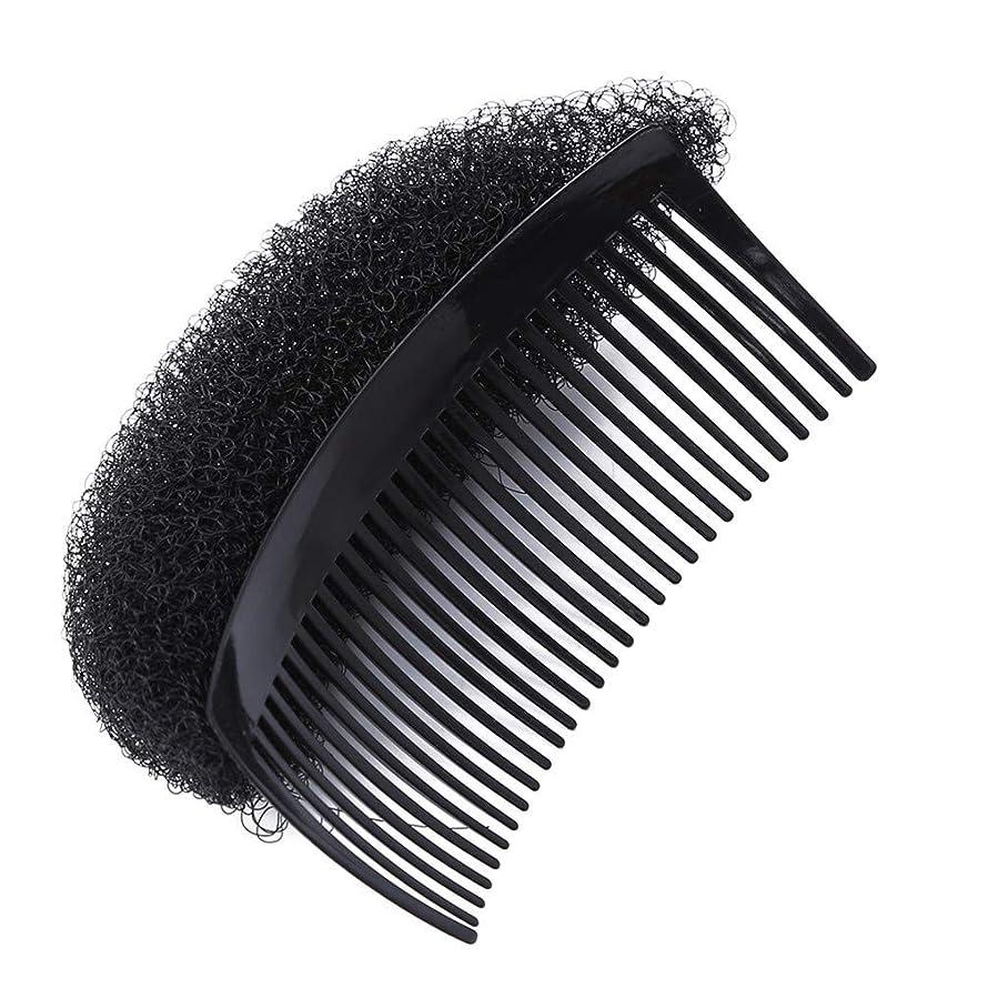 結果として法律高揚した1st market 丈夫なヘアスタイラークリップスティックパンヘアベーススタイリングインサートパンくしクリップ用女性女の子、ブラック