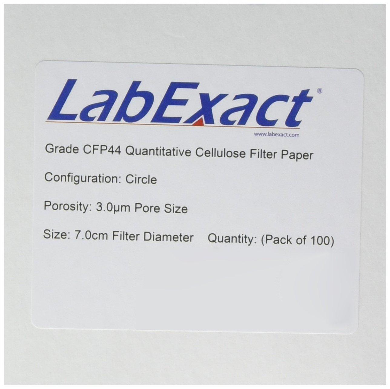 LabExact 1200266 Grade CFP44 Filter Quantitative Paper Portland Mall Cellulose Tampa Mall