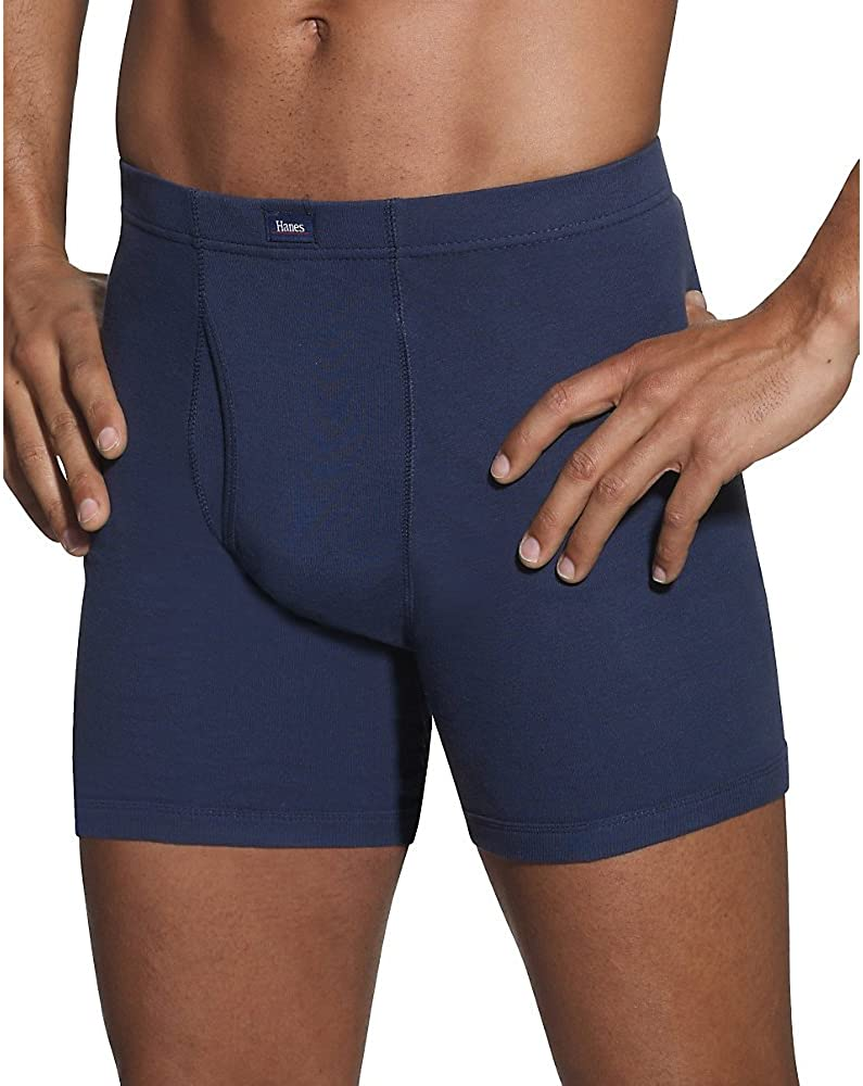 Hanes Ultimate Men's 5-Pack Assorted ComfortSoft Waistband Boxer Brief