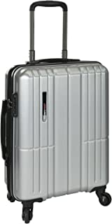 Traveler's Choice Wellington Polycarbonate Durable Hardshell Expandable 21-inch Carry-On Spinner Luggage Suitcase with Int...
