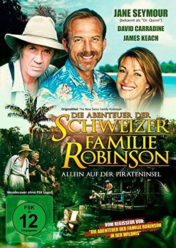 Die Abenteuer der schweizer Familie Robinson (Allein auf der Pirateninsel) - Abenteuerfilm mit Jane Seymour, David Carradine und James Keach