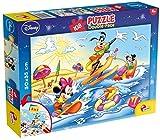 Puzzle dwustronne plus Myszka Miki i Goofy 108
