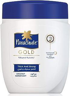 Parachute Gold Hot Oil  Hair Mask Hammam Zaith for Thick & Strong Hair - 1000ml