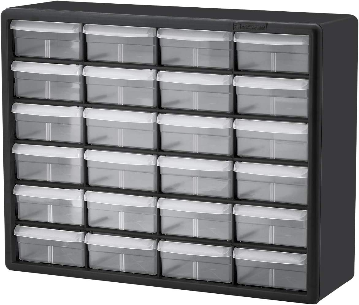 Akro-Mils 24 Drawer 10124 Plastic 67% OFF of fixed price Hardware Parts and Storage Cr Popular brand in the world