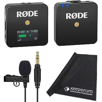 Rode RØDE Wireless GO, Sistema de Micrófono Inalámbrico Compacto: Amazon.es: Electrónica