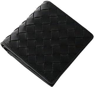 [ユナイテッドオム] かっこいい大人の短財布 (イタリアンレザーヌメ革メッシュ UHP-009) (ブラック)