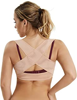 Bra Support Shapewear Vest Posture Corrector Shapewear Tops x Strap Back Support for Women