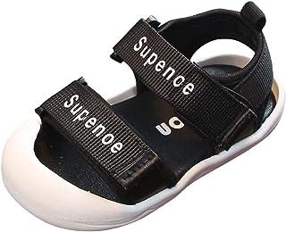 Toddler//Little Kid//Big Kid Cinhent Toddler Shoes Sandals Kids Sandals Fashion Letter Cool Shoes Sandals Closed Toe Shoes Outdoor Sport Sandals Summer Breathable Sandals for Boys Girls