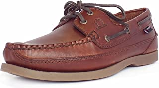 Chatham Boat Shoes Leather Men's G2 - Kayak II - Seahorse (Brown)