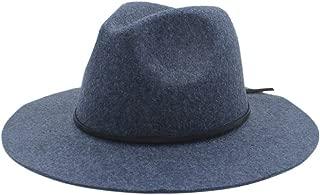 SHENTIANWEI Men Women Wool Fedora Hat Dance Party Hat Casual Wild Church Hat Adult Jazz Hat Size 56-58CM