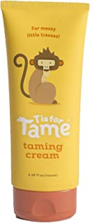 Hair Taming Matte Cream   100% Natural   Made for Babies, Toddlers & Up   Organic Coconut Oil & Jojoba   Light Hold   Not Stiff, Sticky or Greasy