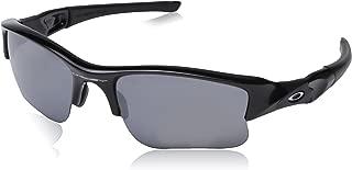 Oakley Men's OO9009 Flak Jacket XLJ Rectangular Sunglasses