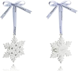 Pandora Snowflake Holiday Ornament 2015 Pusp002
