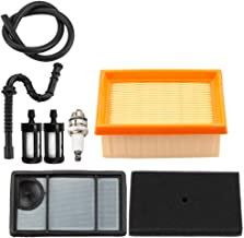 Dxent Tune-Up Kit Air Filter Fuel Line for Stihl TS400 Contrete Cut Off Saw Fuel Filter Spark Plug
