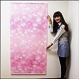 桜タペストリー 桜吹雪 防炎加工 L180cm / 春 装飾 飾り ディスプレイ  4939