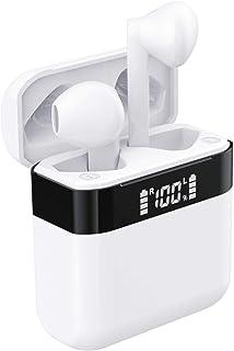 ワイヤレスイヤホン Bluetooth イヤホン iPhone 完全ブルートゥースイヤホン Bluetooth ヘッドセット 自動ベアリング air TWS Pods LEDディスプレイ Hi-Fi 高音質 PSE認証 IPX5防水 レベルSi...