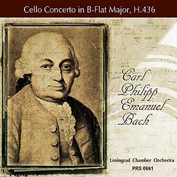 Bach: Cello Concerto in B-Flat Major, H.436