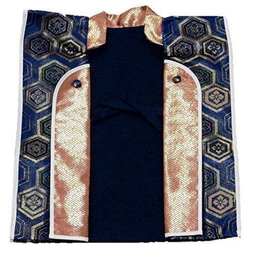 『えくぼちゃん(ekubochan)日本製 京都伝統金襴 陣羽織 (は柄)』の1枚目の画像