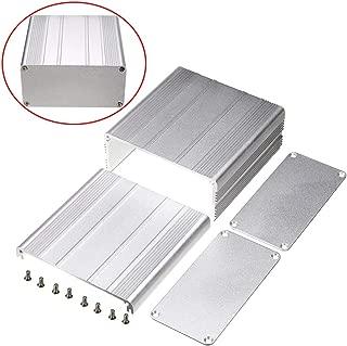 Connectors - Silver Diy Pcb Instrument Enclosure 100x100x50mm Alunum Electronic Box 8pcs Screw - Enveloping Enclosing Inclosure Envelopment
