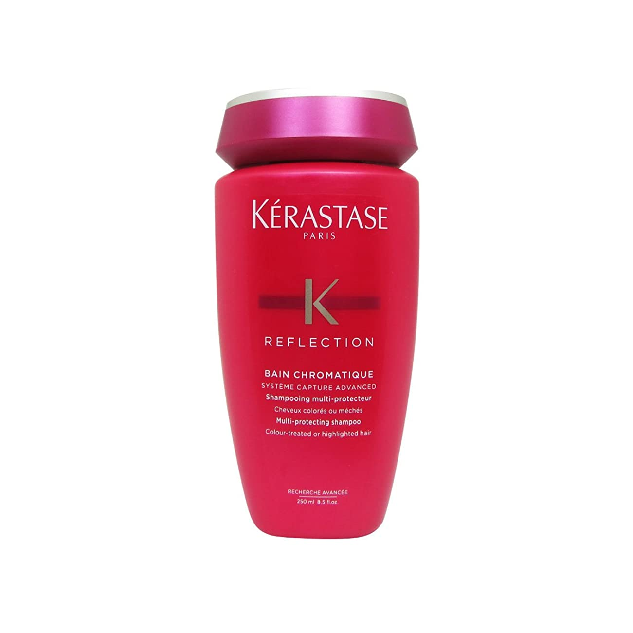 しおれたレッドデートしっとりKerastase Reflexion Bain Chromatique Shampoo 250ml [並行輸入品]