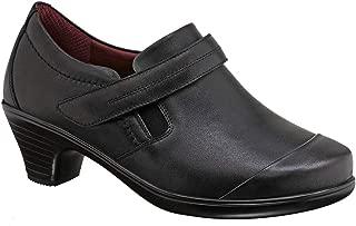 Bunions Relief Most Comfortable 2 Inch Low Heels Women's Bootie BioHeels Marina Black