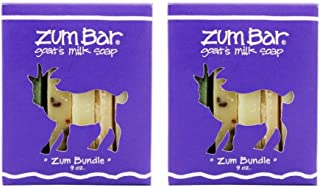 Zum Bar Goat's Milk Soap Zum Bundle, 9 oz (Pack of 2)