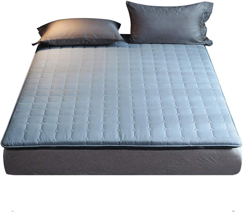 Mattress Topper Pad Floor Futon Mattresses Sleeping Pad, Tatami Mat, Japanese Bed Roll, Foldable Roll Up Mattress (color   E, Size   1.8×2m)