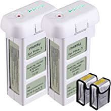 15.2V 4500MAh LiPo Intelligent Flight Replacement Battery Compatible with DJI Phantom 3 SE, Professional, Phantom 3 Advanced, Phantom 3 Standard, 4K Drones (2-Pack)