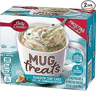 Betty Crocker Baking Mug Treats Rainbow Chip Cake Mix with Rainbow Chip Frosting, 13.9 oz(us) (1)
