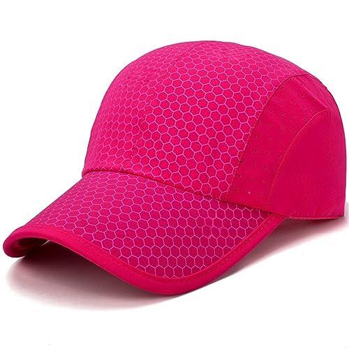 9699539e244 GADIEMENSS Soft Brim Lightweight Running Hat Waterproof Breathable Quick  Dry Sport Cap Men Woman