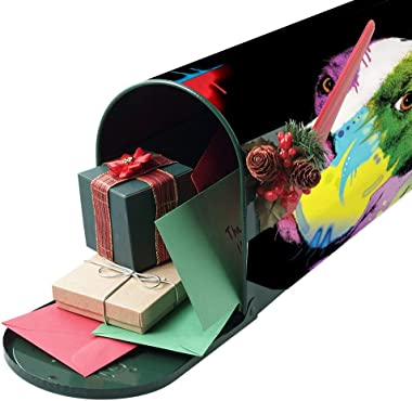 American Bulldog Mailbox Stickers style3 52.8x64.8cm