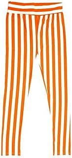 【レギンス】【レッグウェア】【スパッツ】 (エーシーディーシーラグ)ACDCRAG ストライプレギンス (オレンジ)