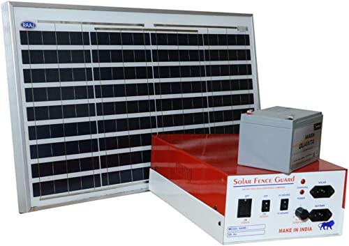 AJAB GAJAB JATKA MACHINE Solar FATAKA Machine, Battery Solar PANAL and 100 PC Insulator