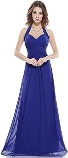 Floor Length Sexy Halter Long Evening Dress for Women 08487