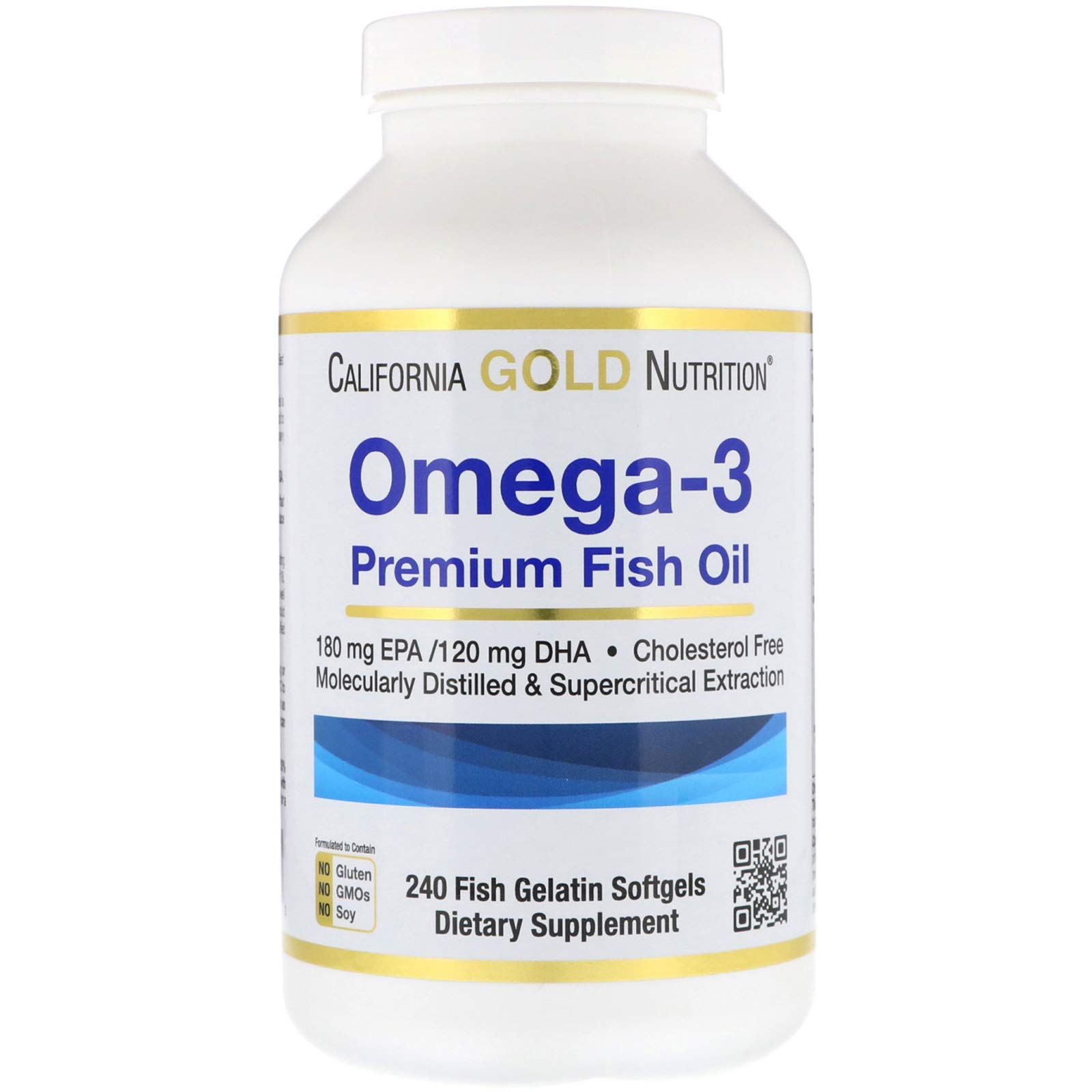California Gold Nutrition Omega 3 Softgels