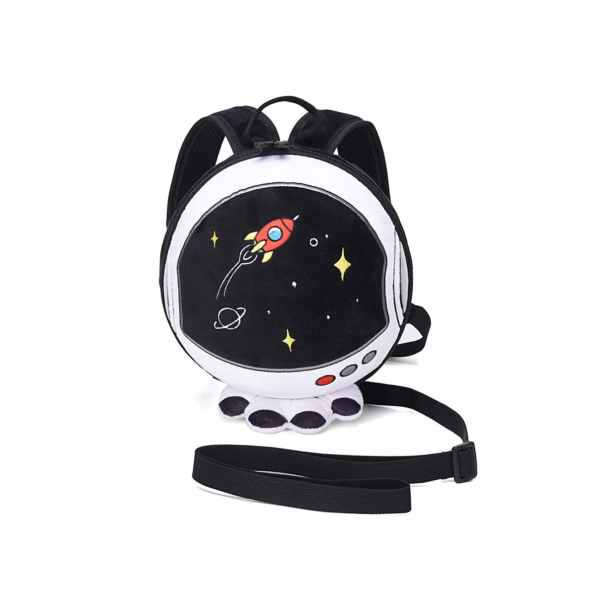 Leash Backpack for Toddler,Kids Backpack Leash with Harness,Baby Leash Backpack Child,Anti Lost Backpack for Boy,Astronaut Backpack Leash for Girl