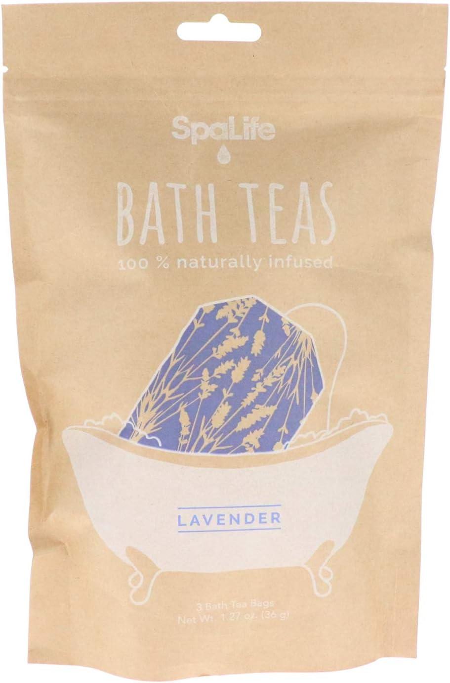 SpaLife Naturally Infused Bath Tea (3 Pack) (Lavender)