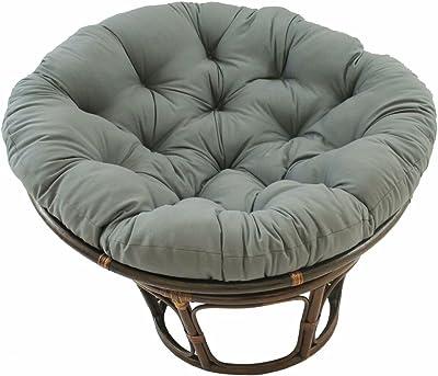Amazon Com American Rattan 2 Piece Papasan Chair And Ottoman