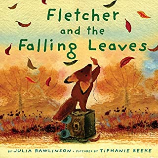 Fletcher and the Falling Leaves audiobook cover art