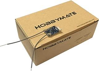 HOBBYMATE Full Range Receiver Compatible Frsky Transmitter D8 D16 Mode, Jumper Transmitter, Support Lua Script, RSSI, Telemetry w/S.Port