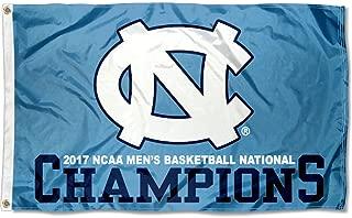 UNC Tar Heels 2017 College Basketball National Champs Flag