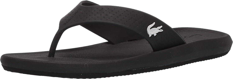 Lacoste Men's Clearance SALE! Limited time! Croco Sandal Topics on TV Flip Flop