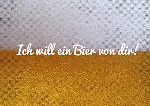 Postkarte A6 • 36541 ''Ein Bier von Dir!'' von Inkognito • Künstler: Schneebrot • Text