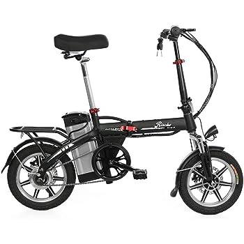 Riscko Bicicleta Eléctrica Plegable Volt Batería 10,4 Bep-48 Negro: Amazon.es: Deportes y aire libre