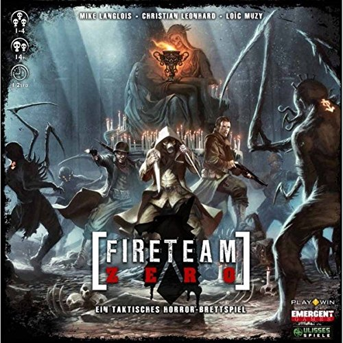 Ulisses Spiele ULID0249 Fireteam Zero - Juego de Mesa (Contenido en alemán)