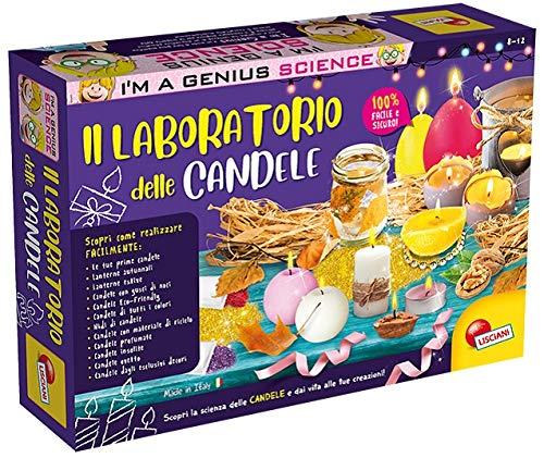 Liscianigiochi-68647 I'm a Genius Laboratorio delle Candele, Gioco per Bambini 6 Anni+, Multicolore, 68647